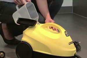 تخلیه آب مخزن بخارشوی دلونگی بعد از هر بار استفاده