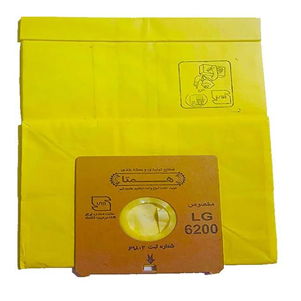 پاکت جاروبرقی ال جی همتا مدل های 6200ST